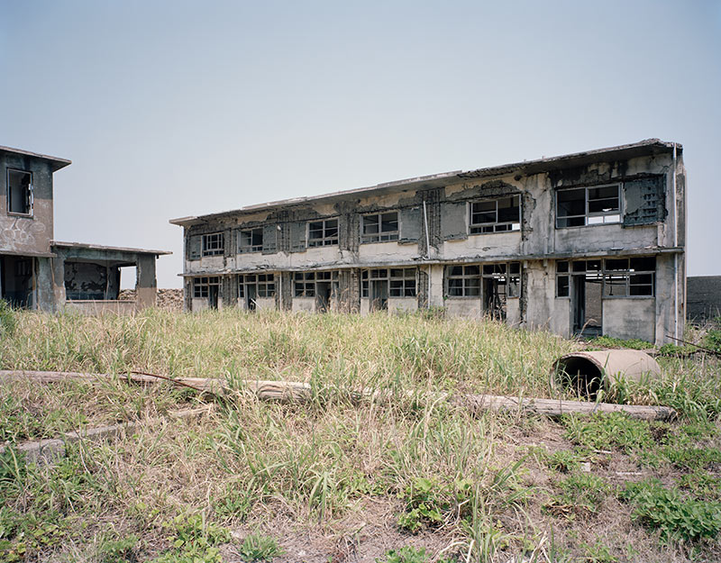 Hashima Island Photographs by Andrew Meredith Photography - Apartments Photograph 1