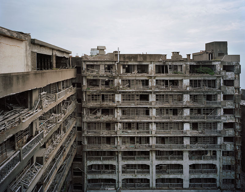 Hashima Island Photographs by Andrew Meredith Photography - Apartments Photograph 2