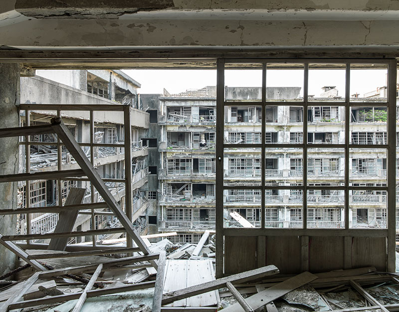 Hashima Island Photographs by Andrew Meredith Photography - Apartments Photograph 9