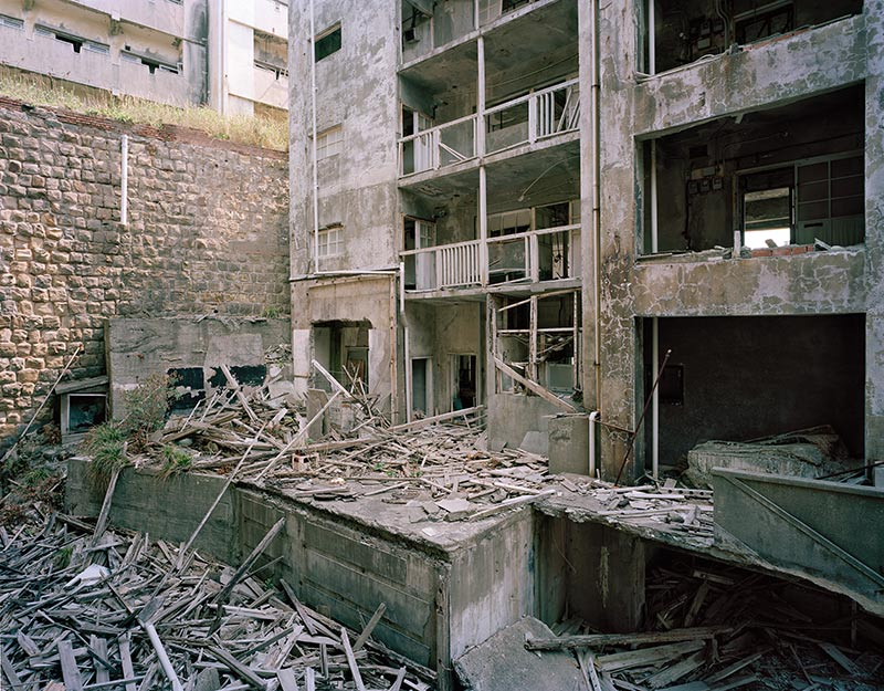 Hashima Island Photographs by Andrew Meredith Photography - Apartments Photograph 19