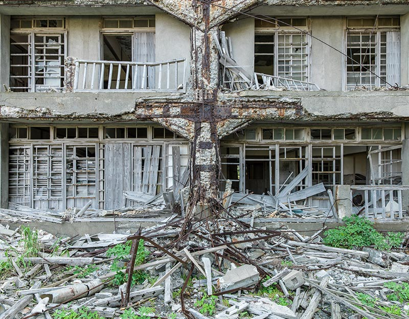 Hashima Island Photographs by Andrew Meredith Photography - Apartments Photograph 20