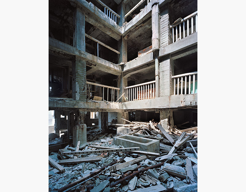 Hashima Island Photographs by Andrew Meredith Photography - Apartments Photograph 21
