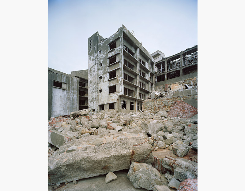 Hashima Island Apartments Photographs Andrew Meredith Photography
