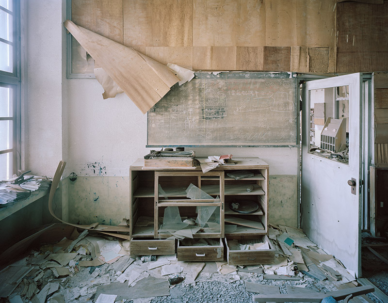 Hashima Island Photographs by Andrew Meredith Photography - Classrooms Photograph 1