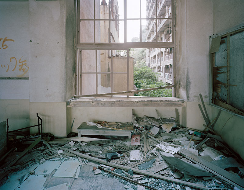 Hashima Island Photographs by Andrew Meredith Photography - Classrooms Photograph 2