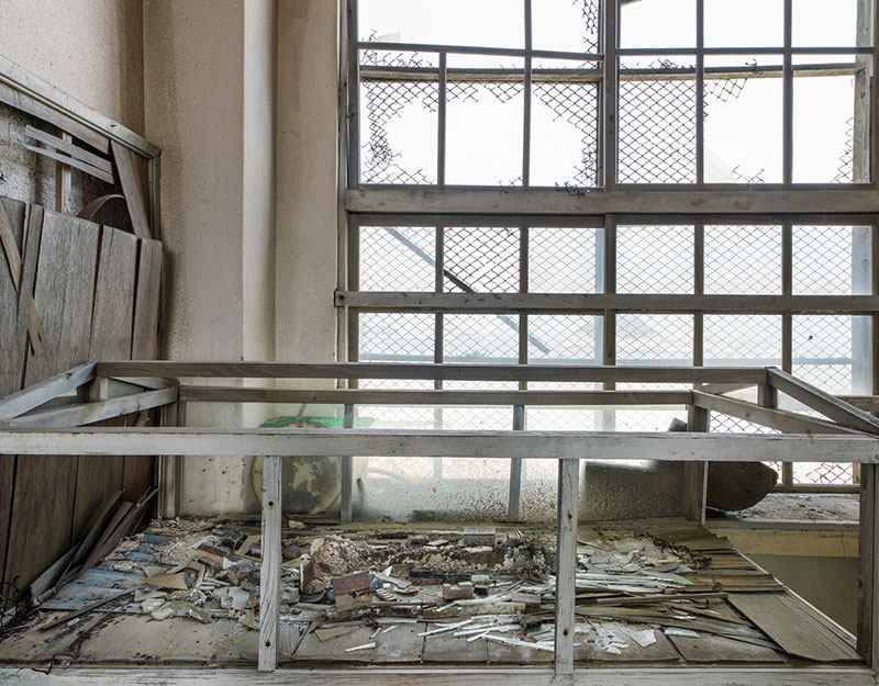 Hashima Island Photographs by Andrew Meredith Photography - Classrooms Photograph 5