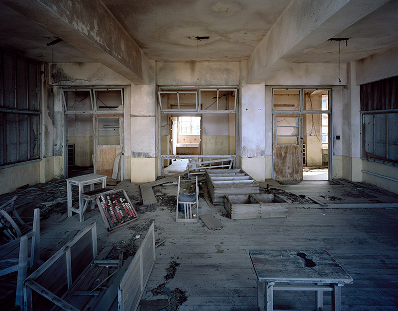 Hashima Island Photographs by Andrew Meredith Photography - Classrooms Photograph 6