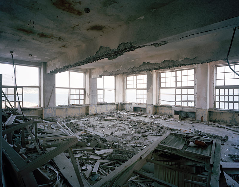 Hashima Island Photographs by Andrew Meredith Photography - Classrooms Photograph 7
