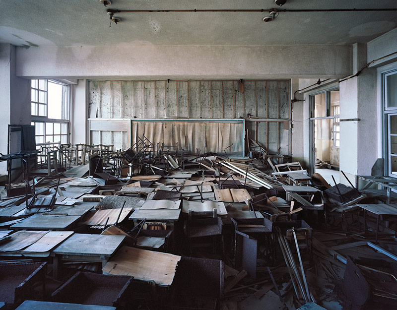 Hashima Island Photographs by Andrew Meredith Photography - Classrooms Photograph 8