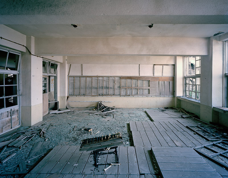 Hashima Island Photographs by Andrew Meredith Photography - Classrooms Photograph 9