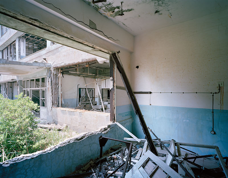 Hashima Island Photographs by Andrew Meredith Photography - Hospital Photograph 1