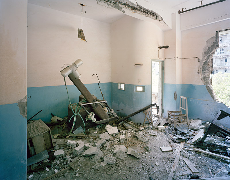Hashima Island Photographs by Andrew Meredith Photography - Hospital Photograph 2