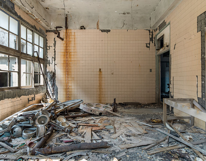 Hashima Island Photographs by Andrew Meredith Photography - Hospital Photograph 3