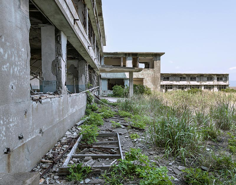 Hashima Island Photographs by Andrew Meredith Photography - Hospital Photograph 4