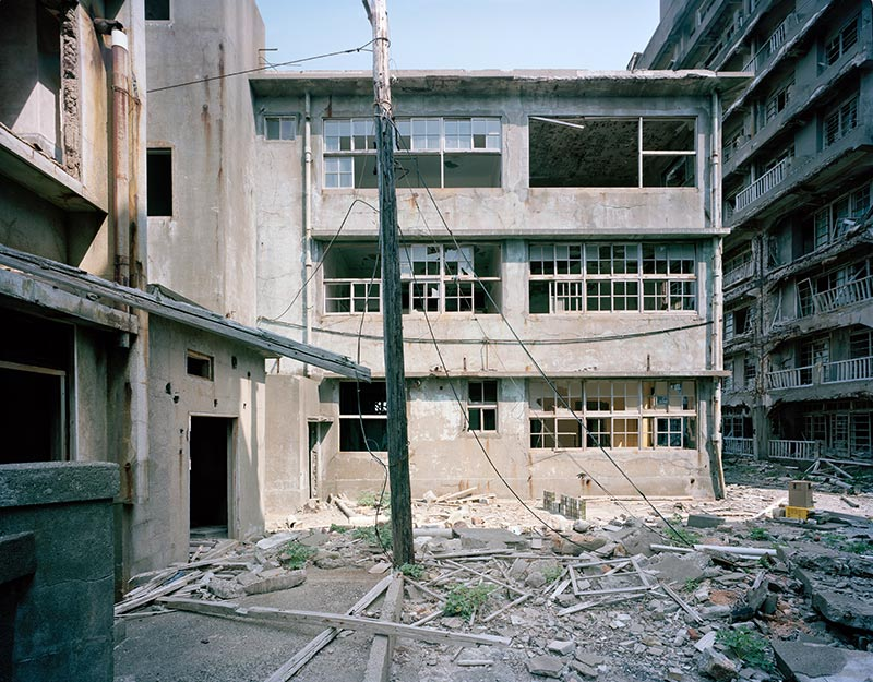 Hashima Island Photographs by Andrew Meredith Photography - Hospital Photograph 5