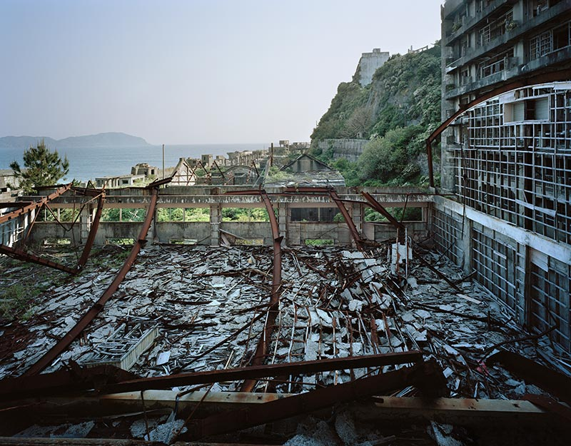 Hashima Island Photographs by Andrew Meredith Photography - Landscape Photograph 7
