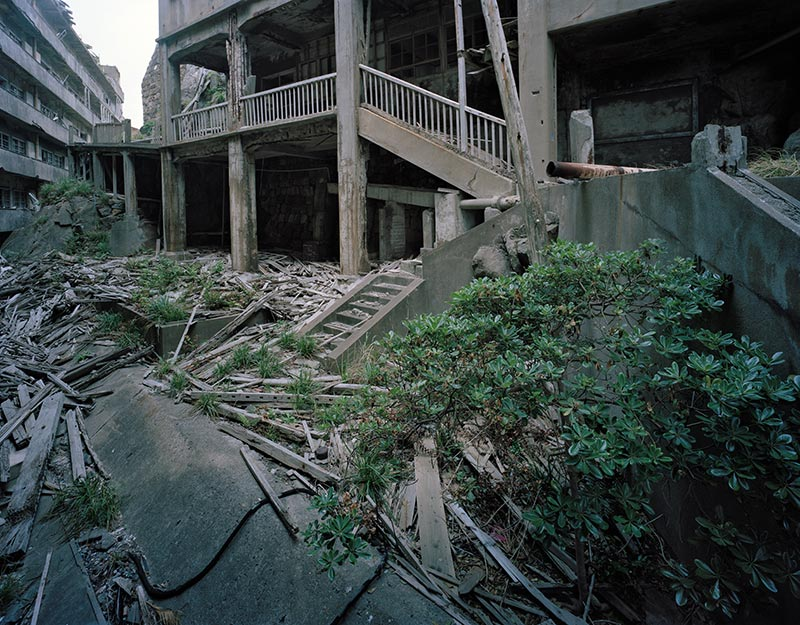 Hashima Island Photographs by Andrew Meredith Photography - Landscape Photograph 11
