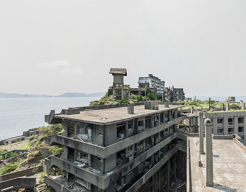 Hashima Island Photographs by Andrew Meredith Photography - Landscape Photograph 14