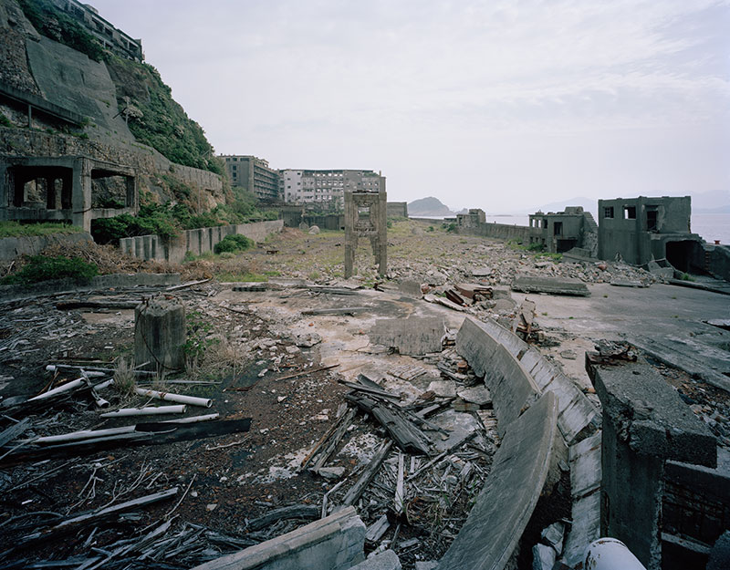 Hashima Island Photographs by Andrew Meredith Photography - Mine Photograph 1