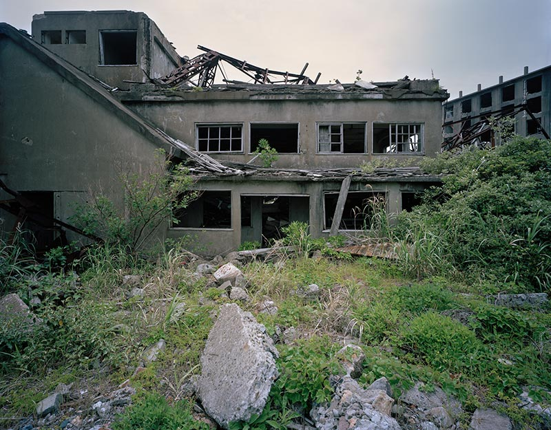Hashima Island Photographs by Andrew Meredith Photography - Mine Photograph 3