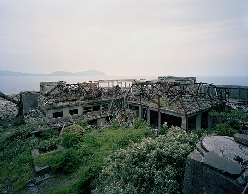 Hashima Island Photographs by Andrew Meredith Photography - Mine Photograph 4