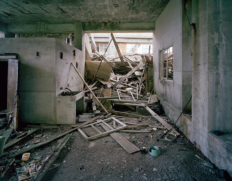 Hashima Island Photographs by Andrew Meredith Photography - Mine Photograph 5