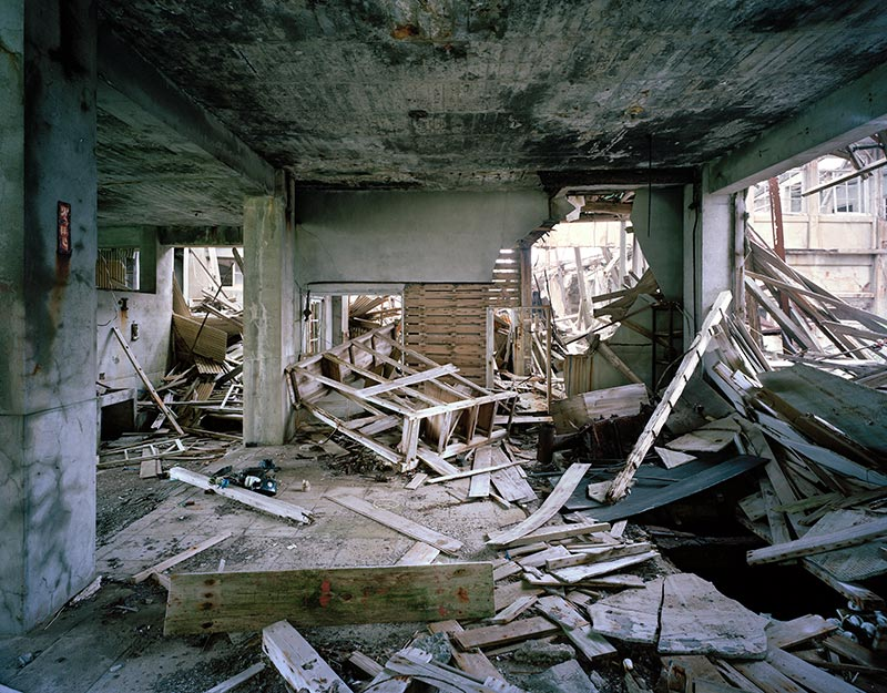Hashima Island Photographs by Andrew Meredith Photography - Mine Photograph 6