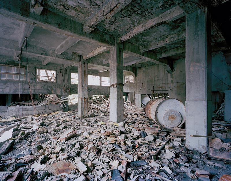Hashima Island Photographs by Andrew Meredith Photography - Mine Photograph 7