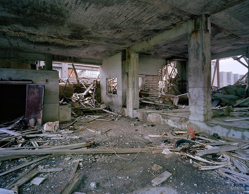 Hashima Island Photographs by Andrew Meredith Photography - Mine Photograph 8