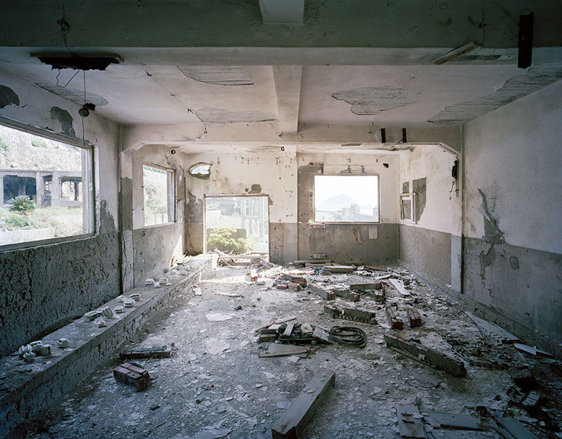 Hashima Island Photographs by Andrew Meredith Photography - Mine Photograph 10