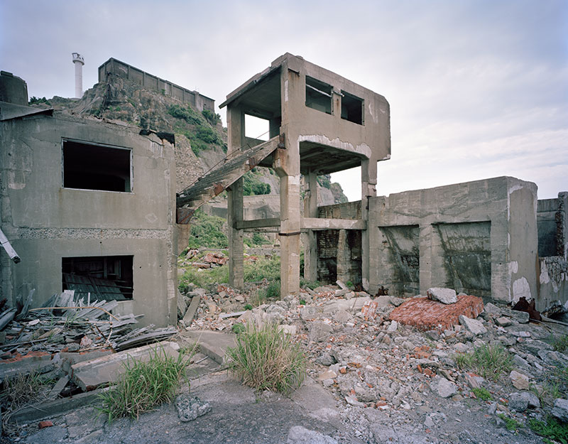 Hashima Island Photographs by Andrew Meredith Photography - Mine Photograph 12