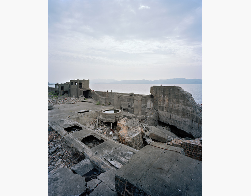 Hashima Island Photographs by Andrew Meredith Photography - Mine Photograph 13