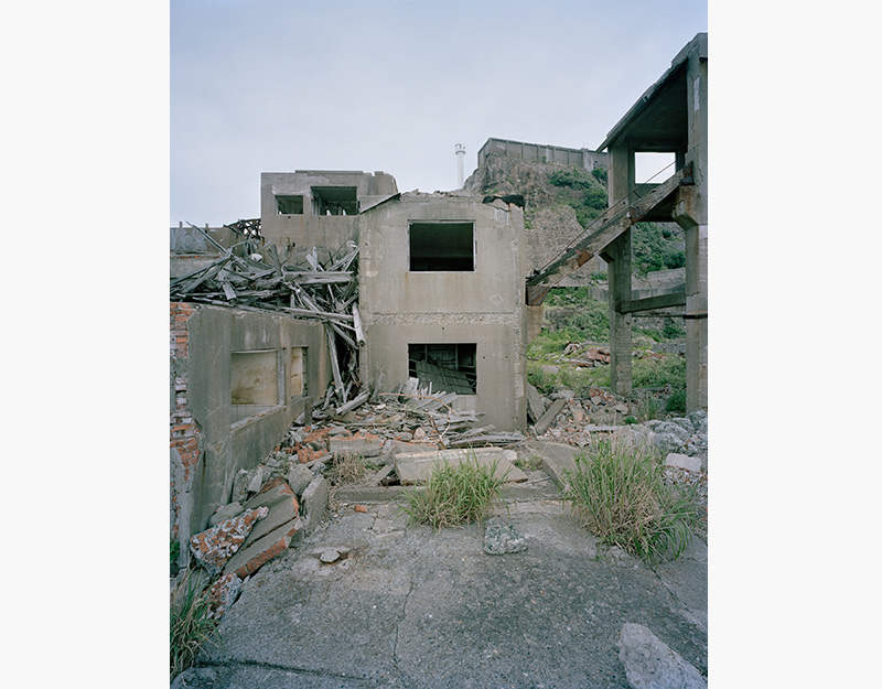 Hashima Island Photographs by Andrew Meredith Photography - Mine Photograph 14