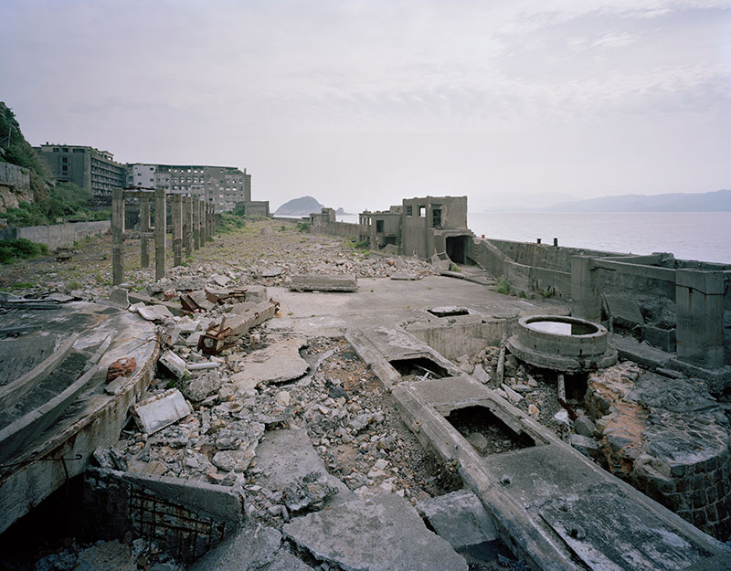 Hashima Island Photographs by Andrew Meredith Photography - Mine Photograph 15