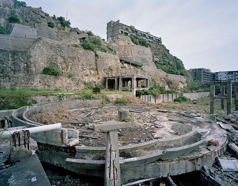 Hashima Island Mine Photographs Andrew Meredith Photography