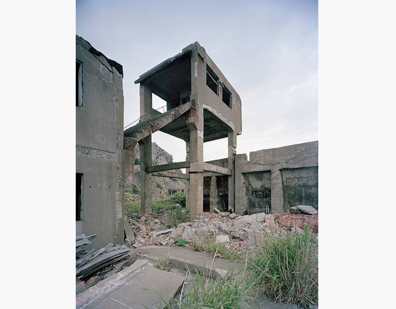 Hashima Island Photographs by Andrew Meredith Photography - Mine Photograph 17
