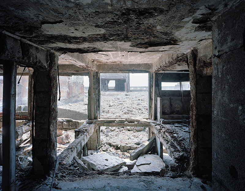 Hashima Island Photographs by Andrew Meredith Photography - Passages and Walkways Photograph 1
