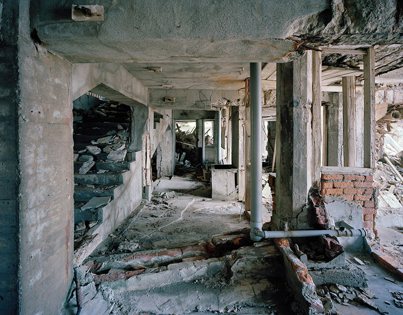 Hashima Island Photographs by Andrew Meredith Photography - Passages and Walkways Photograph 2