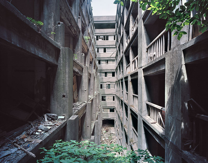 Hashima Island Photographs by Andrew Meredith Photography - Passages and Walkways Photograph 6