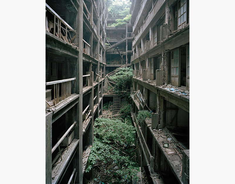Hashima Island Photographs by Andrew Meredith Photography - Passages and Walkways Photograph 8