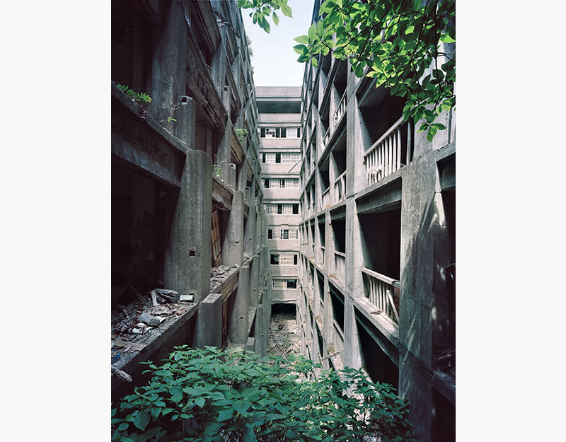 Hashima Island Photographs by Andrew Meredith Photography - Passages and Walkways Photograph 9