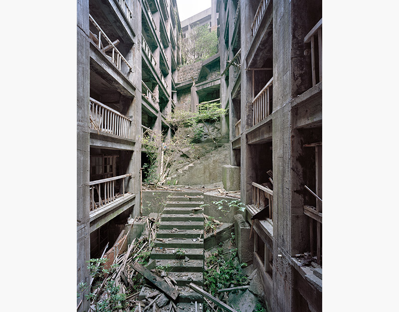 Hashima Island Photographs by Andrew Meredith Photography - Passages and Walkways Photograph 10