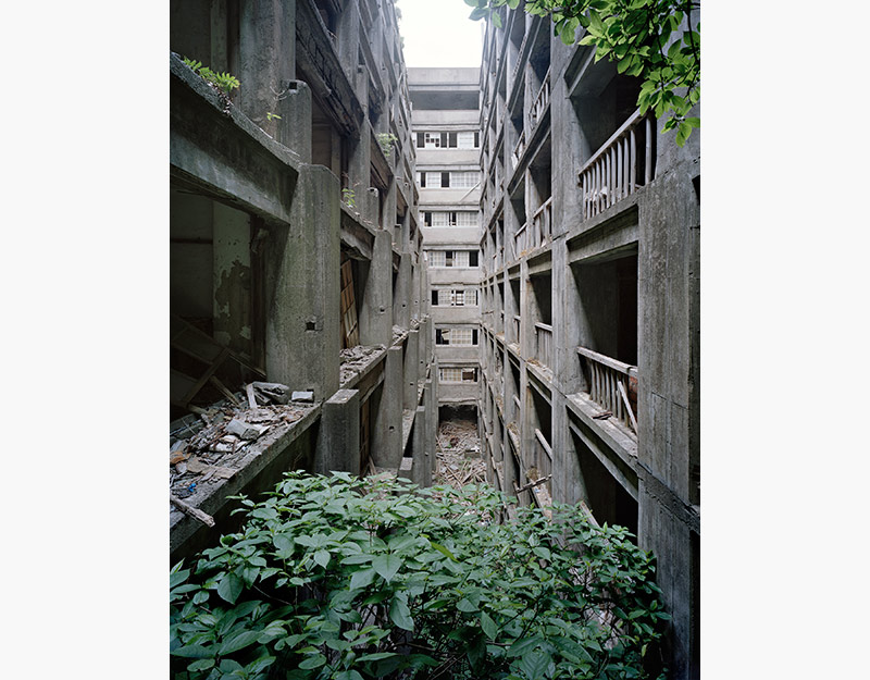 Hashima Island Photographs by Andrew Meredith Photography - Passages and Walkways Photograph 11