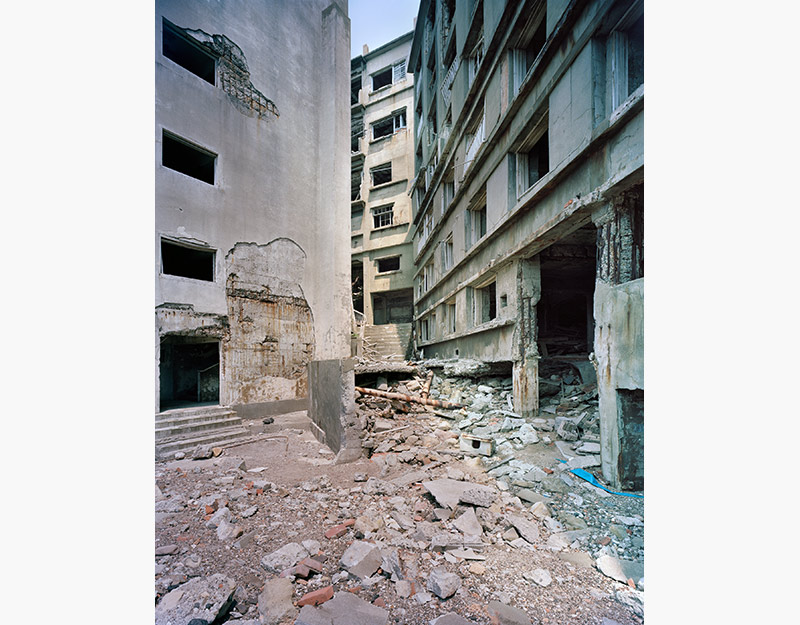 Hashima Island Photographs by Andrew Meredith Photography - Passages and Walkways Photograph 12