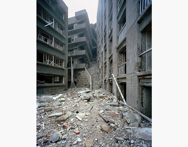Hashima Island Photographs by Andrew Meredith Photography - Passages and Walkways Photograph 13