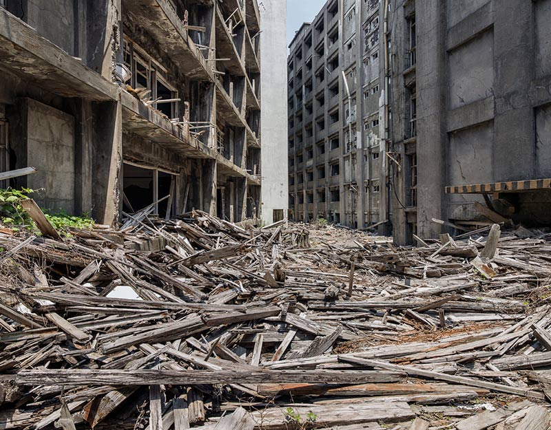 Hashima Island Photographs by Andrew Meredith Photography - Passages and Walkways Photograph 14