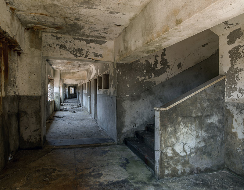 Hashima Island Photographs by Andrew Meredith Photography - Passages and Walkways Photograph 16