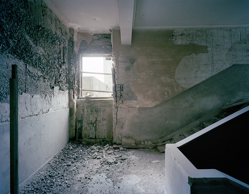 Hashima Island Photographs by Andrew Meredith Photography - Passages and Walkways Photograph 17