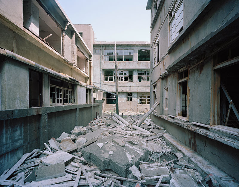 Hashima Island Photographs by Andrew Meredith Photography - Passages and Walkways Photograph 18