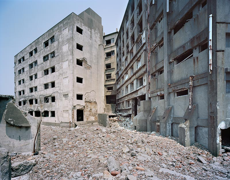Hashima Island Photographs by Andrew Meredith Photography - Passages and Walkways Photograph 23